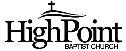 High Point Baptist Church Alexandria Kentucky